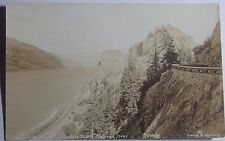 1940'S Rppc Postcard Inspiration Point Columbia River Highway Oregon