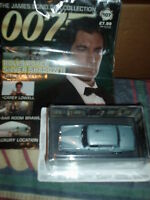 JAMES BOND CAR COLLECTION#107 ROLLS ROYCE SILVER SHADOW 11 in BLISTER @MAGAZINE
