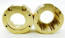 2 x Hot Racing Traxxas TRX-4 Heavy Metal Brass Knuckle Weight Portal Cover