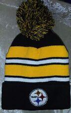 Pittsburgh Steelers Womens Knit Beanie Rhinestone Bling Cap Hat ~NEW~