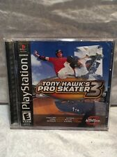 Tony Hawk's Pro Skater 3 (Sony PlayStation 1, 2001) PS1 GAME COMPLETE