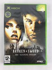 Xbox Broken Sword: The Sleeping Dragon, UK Pal, Brand New & Factory Sealed