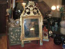 Très beau Miroir époque Restauration, Louis XVI, XIX eme 83.5 cm/ 45 cm...