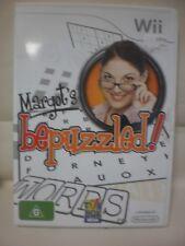 Nintedo Wii Game - Margot's Be Puzzled
