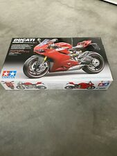 Ducati 1199 Panigale S Bike Motorrad 1:12 Model Kit Bausatz TAMIYA 14129
