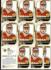 PAVEL BURE /11 ITG H&P Lot of (10) #2 Hockey Hero Vancouver Canucks Russia Cards