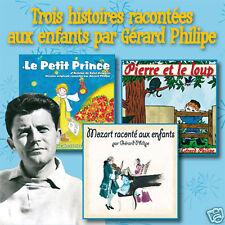 CD 3 histoires racontées aux enfants par Gérard Philipe