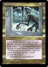 x1 Vision diabolique / Diabolic Vision ICE AGE 1995 Magic MTG ~ EX