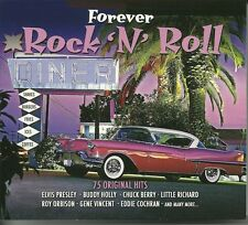 FOREVER ROCK 'N' ROLL - 3 CD BOX SET - BUDDY HOLLY, CHUCK BERRY & MORE