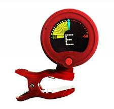Jagg Clip on Guitar Tuner & Metronome Chromatic Acoustic Electric Bass Violin