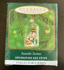 Hallmark Keepsake Ornament Seaside Scenes (Handcrafted) Christmas Holiday