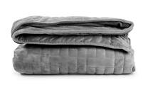 """Sleepforce Weighted Blanket Full Queen Twin Deep Sleep (48"""" x 72"""", 20 LBS), Gray"""