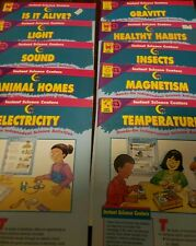 Lot of 10 Instant Science Centers,  Grades 1-3,  Creative Teaching Press