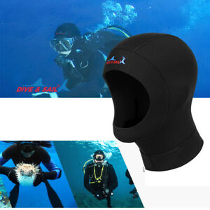 3mm DOUBLE LINED NEOPRENE WETSUIT HOOD M