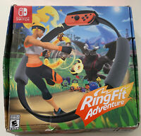 Ring Fit Adventure- Without Game Open Box! Wheel And Strap New! Tested!