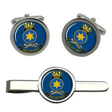 HMAS Parkes Royal Australian Navy Cufflinks and Tie Clip Set