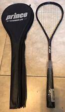 00004000 Vintage Prince Extender Lite 185 Squash Racquet w/ case New Purple