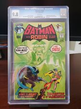 BATMAN 232 CGC 9.8 White Pages  - 1st Appearance  Ra's Al Ghul
