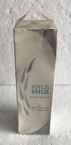 Benjamin's of Jamaica Khus Khus Perfume Toilet Water 2oz Cologne NIB
