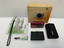 Canon PowerShot A3400 IS 16.0MP Digital Camera - Red