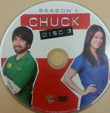 DVD CHUCK SEASON 1 DISC 3