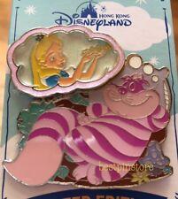 Hong Kong Disney pin - 2017 HKDL My Dreaming Series - LE500 Cheshire Cat & Alice