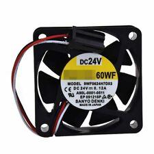 Servo Amplifier Fan 9WF0624H7D03 A90L-0001-0511 for Fanuc DC24V 0.12A 60*60*15mm