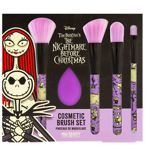 Mad Beauty Disney The Nightmare Before Christmas Cosmetic Brush Set