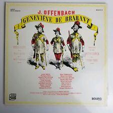 J. Offenbach Genevieve De Brabant 2 LP  Bourg Records – BG 2012-13