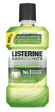 Listerine Kariesschutz Green Tea (Grüner Tee) Tägliche Mundspülung 3 x 500ml NEU