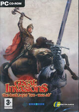 GREAT INVASIONS The Dark Ages PC Game DVD Style Box NEW