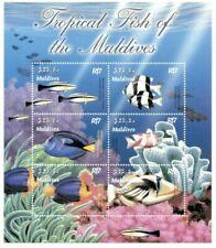 MODERN GEMS - Maldives - Tropical Fish - Sheet Of 6 - MNH