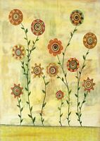"A3 size 12""X16"" Flowers Abstract Modern Deco Canvas Art Print Poster Unframed"