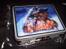 STAR WARS-Collector's Tin Lunch Box-Embossed-New In Plastic-Empire-LICENSED NEW