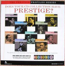 Prestige Profiles Miles Davis / Coltrane Poster 2-Sided