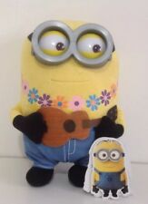 """NEW Official Universal Hawaiian Guitar Playing Minion Luxury Soft Toy 12"""""""