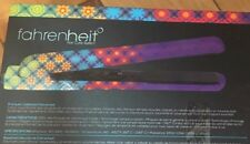 Fahrenheit Vibrance Flat Iron Ceramic Straightening iron Dual voltage $225