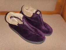 strollers comfort footwear zip up front  slipper boots uk 5