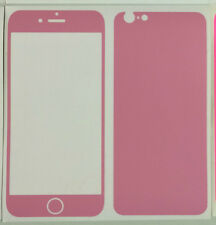 """iPhone 6 4.7"""" Coloured Vinyl Skin Sticker Package, Bumper+Protector"""