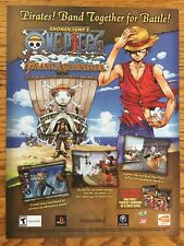 One Piece: Grand Adventure Gamecube PS2 2006 Vintage Game Poster Ad Print Art