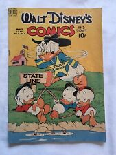 1949 Walt Disney's Comics and Stories #104 Golden Age Comic Book FN-