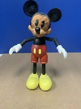 7 Inch Fun Mickey Mouse Wood Wooden Jointed Disney Toy Doll Le 1 /1000