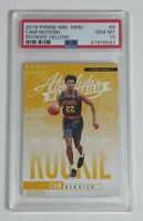 Cam Reddish 2019 Absolute Memorabilia Yellow Rookie Card RC SP PSA 10 LOW POP!