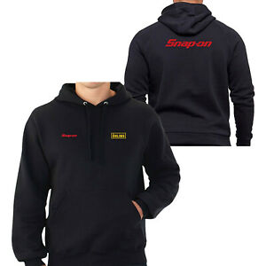 OHLINS & SNAP-ON TOOLS LOGO EMBROIDERED CLASSIC HOODIE WORK OUTDOOR SPORT GIFT