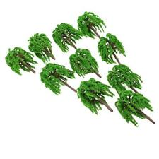 10pcs 1:150 HO N Scale Plastic Model Trees Train Railroad Scenery Landscape