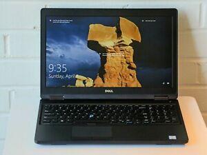 """Dell Latitude 5580 15.6"""" i5-7440HQ 2.8GHz 8GB RAM 128GB SSD  Win10"""