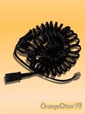 Plantronics QD Cable Cord 26716-01 for M10 M22 M12 MX10 Amps & Cisco VoIP CHEAP!