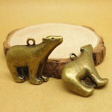 20x polar bear charms,cute charms for DIY,Bronze color,lovely Pendants