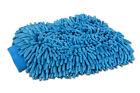 2 Jumbo Blue Car Wash Washing Microfiber Chenille mitt Cleaning Glove US Seller