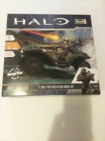 Halo UNSC Warthog Build & Play Revell Model Kit w/Lights & Sound. 3 Figures Incl